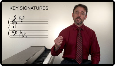 Breaking Barlines Scales Module, Key Signatures